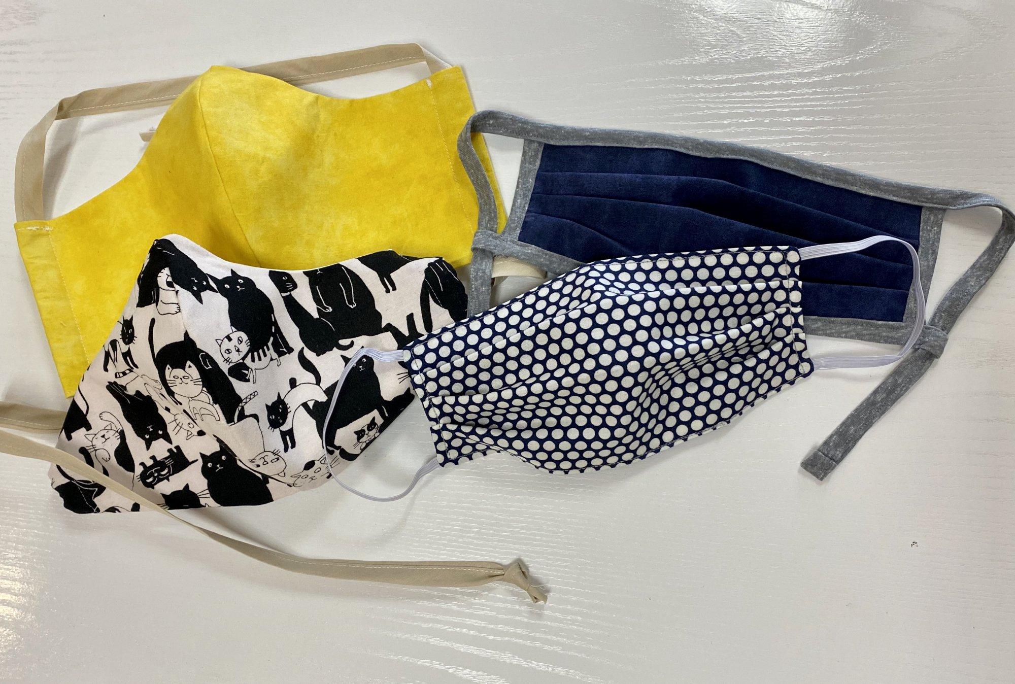 Making Fabric Masks