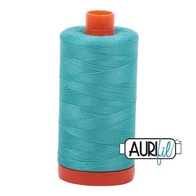 1050-1148 Lt Jade Aurifil Cotton Mako 50wt 1300m