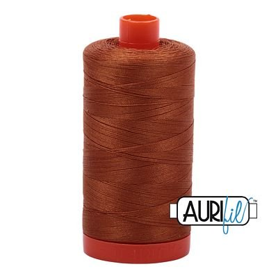 1050-2155 Cinnamon Aurifil Cotton Mako 50wt  1300m