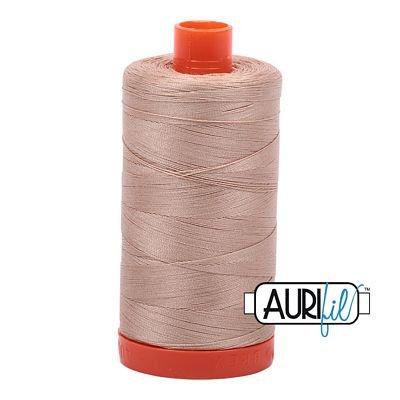 1050-2314  BEIGE Aurifil Cotton Mako 50wt 1300m