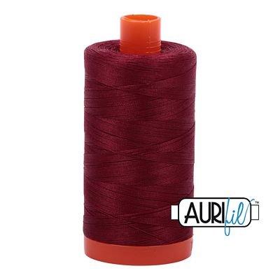1050-2460 DK Carmine Red Aurifil Cotton 50wt 1300m