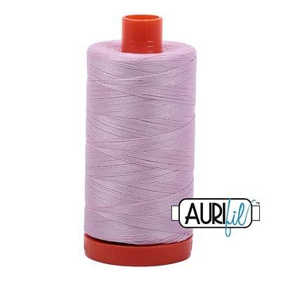 1050-2510 Lt Lilac Cotton Mako 50wt 1300m Aurifil 6/bx