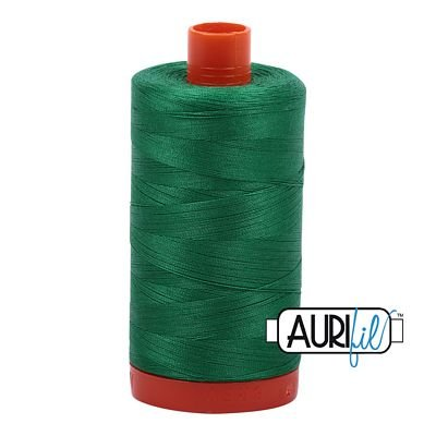 1050-2870 Green Aurifil Cotton 1422 yd 50wt