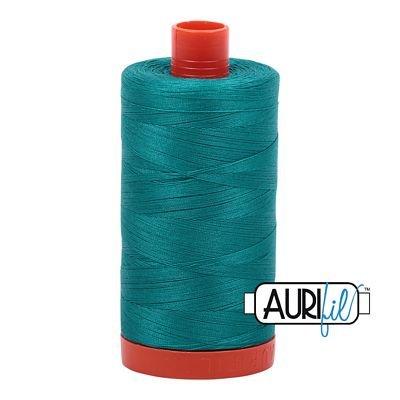 1050-4093 Jade Aurifil Cotton Mako 50wt 1300m