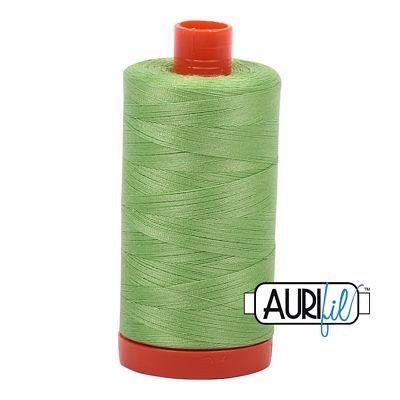 1050-5017 Shining Green Aurifil Thread Cotton 1422 yd 50wt