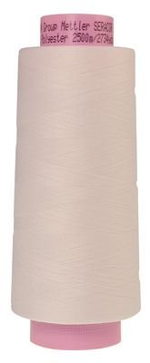 1228-2000 WHITE Seracor Mettler Serger Thread  2734yd
