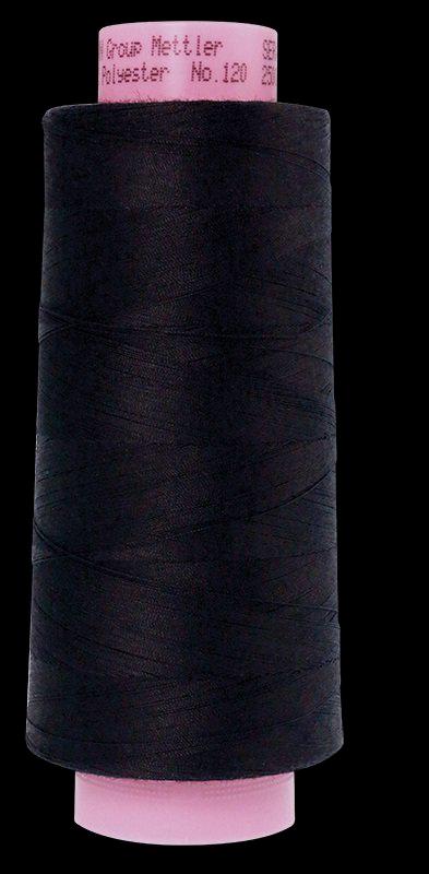 1228-1254 Dark Midnight Seracor Mettler Serger Thread 2734yd