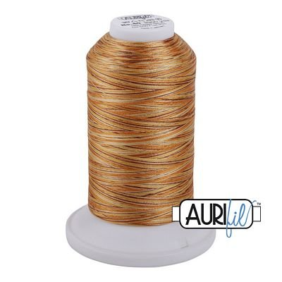 5507 Creme Brulee  Aurifil LongArm Variegated Thread