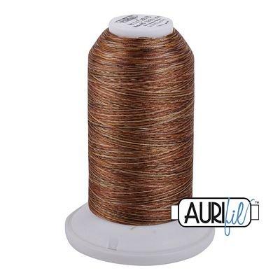 5510 Copper Brown  Aurifil LongArm Variegated