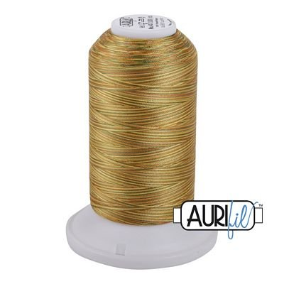 5511 Golden Glow  Aurifil Longarm Variegated Thread