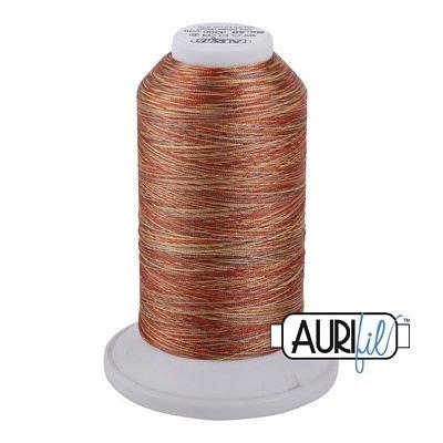 5512 Pumpkin Spice  Aurifil-Longarm Variegated Thread