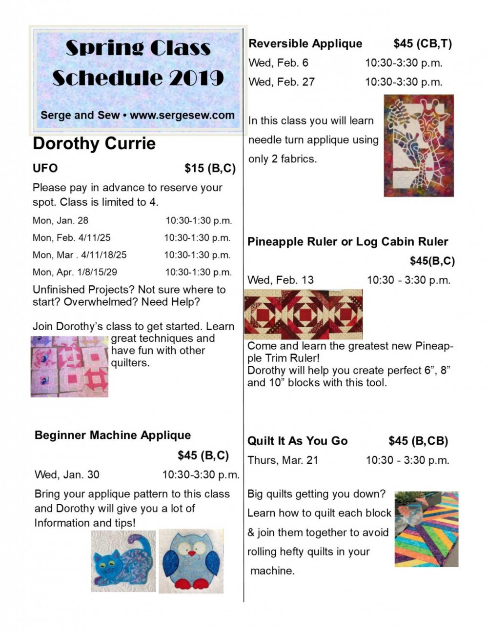 Sewing and quilting Classes in Nanaimo, B C  | Learn to quilt