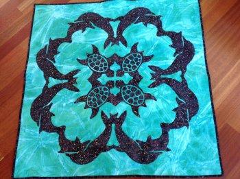 Hawaiian quilting by maureen