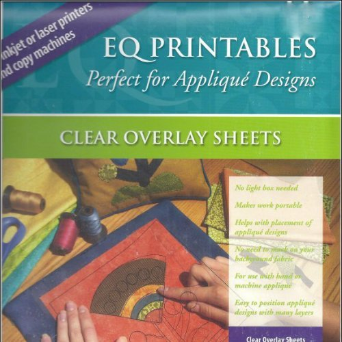 EQ Printables - Perfect for Applique Designs