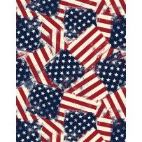 Wilmington Prints- American Valor 1031 84429 341