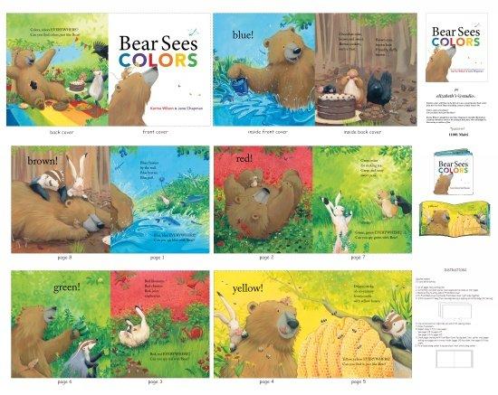 Elizabeth's Studio-Bear Sees Colors