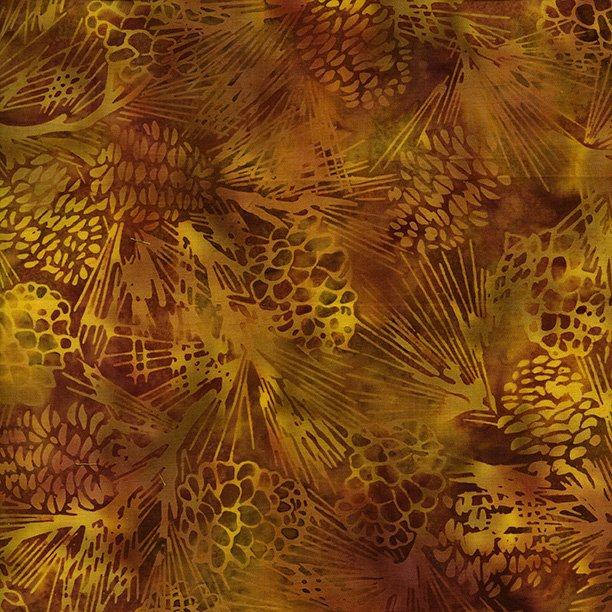 Island Batik- Autumn's  Grace- Pinecopper Pumpkin Patch 121723280