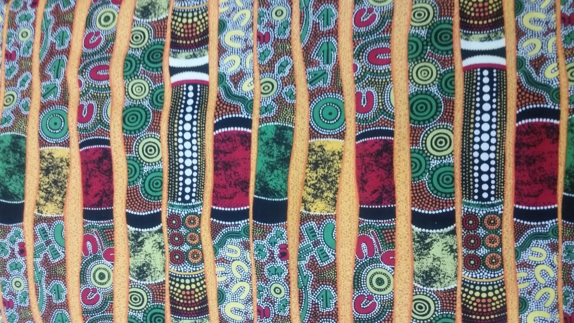 Fabri-Quilt : Paint Brush Studio 120-13501 Goanna Walkabout  Didgeridoos