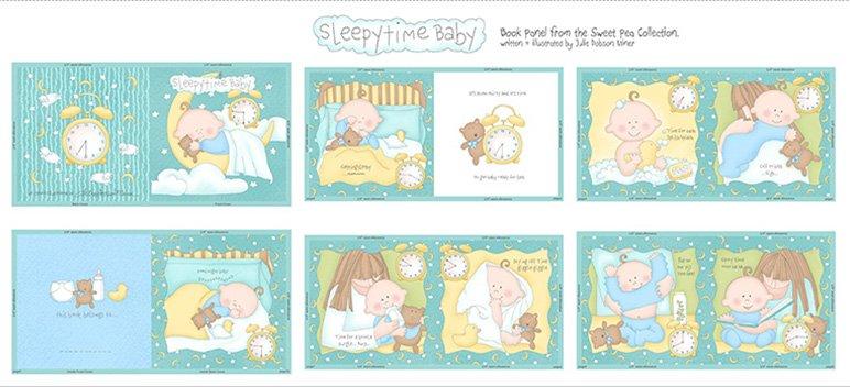 Studio E: Sweet Pea 2131-11 Blue Panel Book
