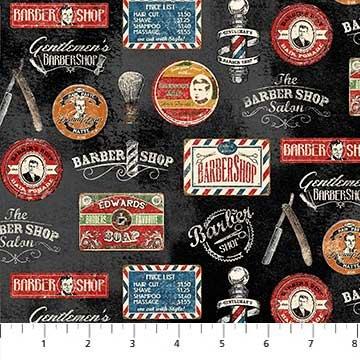 Northcott-Barber Shop  21968 9915 Black