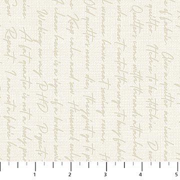 Northcott-Material Girl-23226 11 Cream