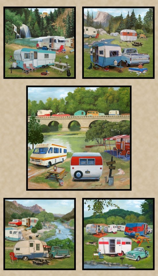 Elizabeth's Studio-  Vintage Trailers 3506-Earth