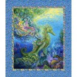 3 wishes fabric-Mystic Ocean 14606-Multi Panel