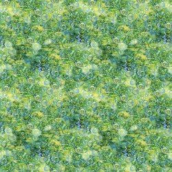 3 wishes fabric-Mystic Ocean 14608 Green