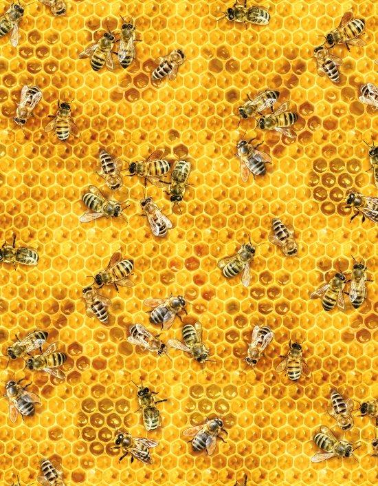 Elizabeth's Studio-Bees & Flowers 510 Honey