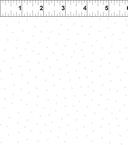 In The Beginning Fabrics- Floral Menagerie- 7FMB 1 Sm Dot White