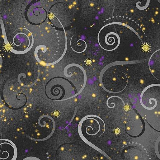 Kanvas-Swirling Sky Charcoal Gray 8500 11