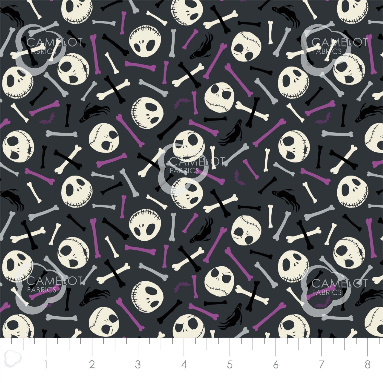 Camelot Fabrics: Jack Is Back-Skull & Bones 85390301R