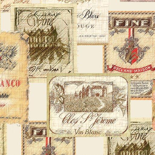 Benartex-Vineyard Classics II-08610 07