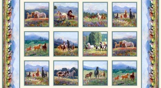 Elizabeth's Studio-Wildflower Trails 8701 Cream