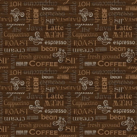 Blank Quilting- Common Grounds 8806 039 Brown