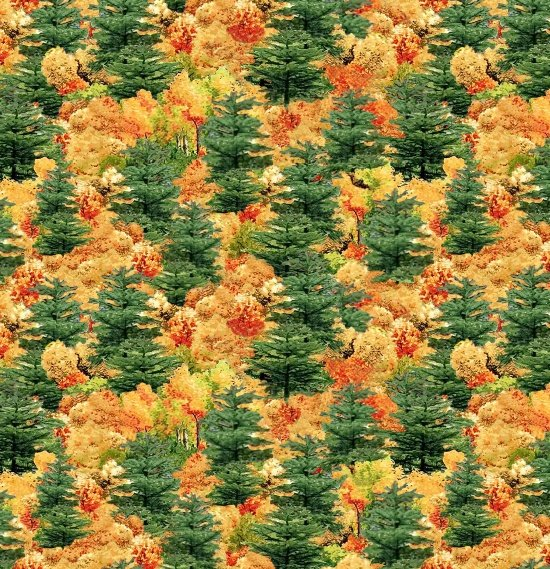 Blank Quilting- Covered Bridges 9000 066 Green