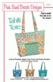 Pink Sand Beach Designs: Tahiti Tote Pattern #118