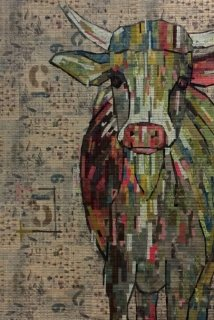 Fiberworks- Abilene Collage Pattern by Laura Heine