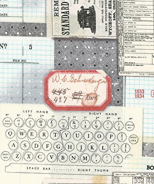 Eclectic Elements- Tim Holtz Typewriter PWTH095.MULTI
