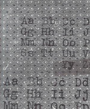 Eclectic Elements- Tim Holtz- Font PWTH096.BLACK