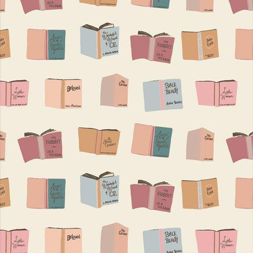 Art Gallery Fabric  Bookish BKS-63514