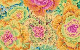 Westminster Fabrics: Kaffe Fassett- Brassica PWPJ051 Yellow
