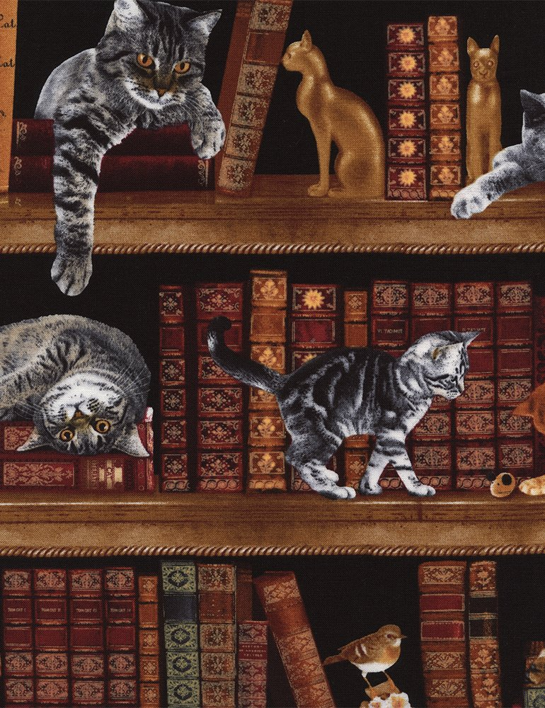 Timeless Treasures- Cat-C2863 Library