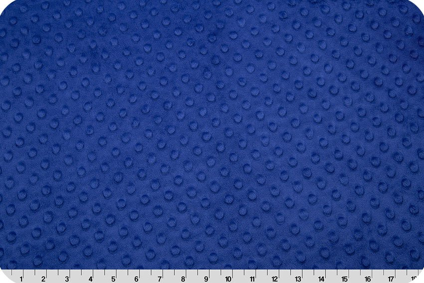 Shannon Fabrics- Cuddle Dimple- CD-4 DR80506  Midnight Blue