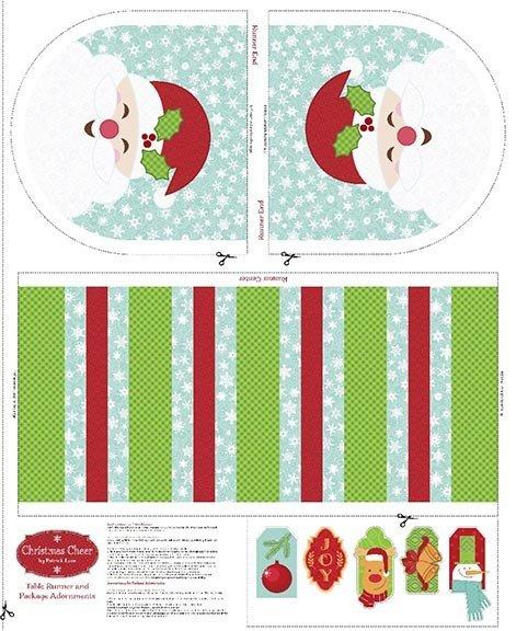 Patrick Lose Fabrics-Christmas Cheer Table Runner