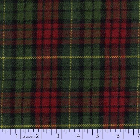 Marcus Brothers Fabrics: Primo Plaid Flannel-Christmas IV R09-J388-0157