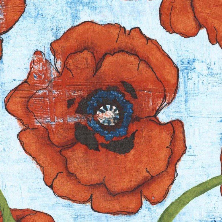 Michael Miller-Garden Wall- CJ4274-Spice-D Big Poppy
