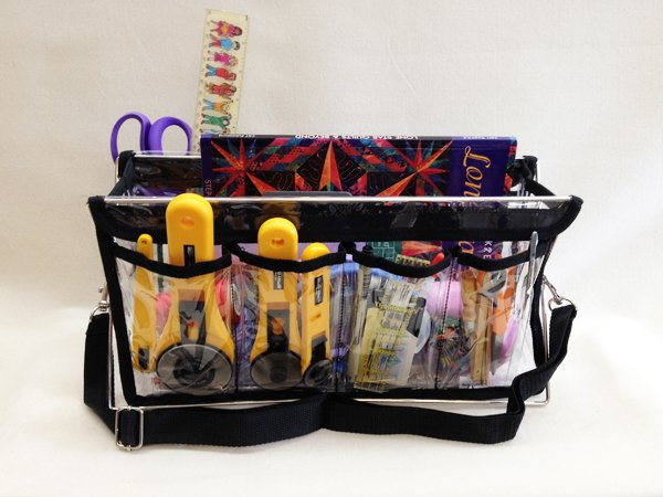 Handy Caddy & Totes- Large Caddy Deluxe- LHC Black