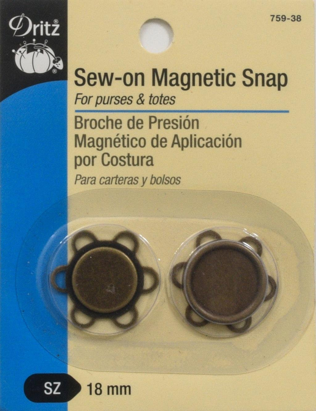 Dritz- Sew-on Magnetic Snap 759-38