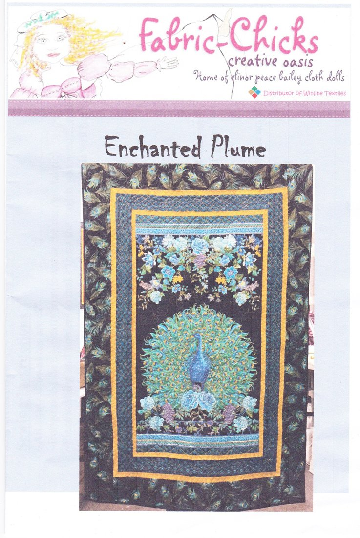 Fabric-Chicks Enchanted Plume Quilt Kit